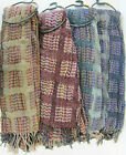 Ladies Scarf Collection Window Box Scarf Pink/Purple 90916