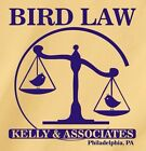 BIRD LAW - KELLY AND ASSOCIATES T-Shirt from The League TV show charlie mac taco