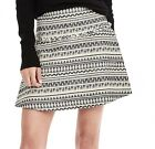 NWT Banana Republic Textured Jacquard Flare Skirt