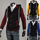 Men Good GiftBaseball Letterman Varsity College University Jacket Jersey Uniform
