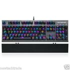 Motospeed CK108 Gaming Keyboard Wired USB Mechanical RGB Backlit Mode For PC