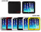 Original LOVE MEI WaterProof Aluminum Metal Gorilla Glass Case For iPad mini 2&3
