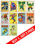 DC COMICS MARVEL SUPER HERO AVENGERS Wall Art Deco Print Buy 1 Get 2 FREE