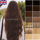 Thick 100G+ One Piece Clip In Real Remy Human Hair Extensions 3/4 Full Head Y659