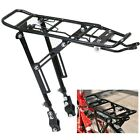Alloy Rear Bicycle Pannier Rack Carrier Bag Luggage Cycle Mountain Bike Black