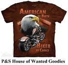 AMERICAN BY BIRTH T-Shirt by The Mountain #4053 (Adult Men's Sizes) S-5XL NEW