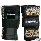 "SMITH ""Scabs"" Leopard Wrist Guards Snowboard Skateboard Roller Derby M or L SALE"