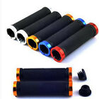 Cheap!MTB Bike Bicycle Scooter Anti-slip Soft Rubber Handle Bar Ends Hand Grips