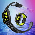 Replacement New Silicone Sports Bracelet Strap For Apple Watch Bands Series 2 /1