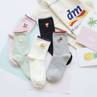 New 3D Cute Girl Candy Pure Color Cotton Harajuku Socks Small Fresh Casual Women