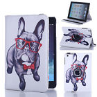 360 Rotating LEATHER SMART CASE STAND COVER FOR APPLE IPAD MODELS