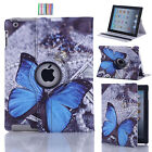 Stand Shell Case Leather Rotating Cover for iPad 9.7 2018 2 3 4 Air Mini