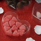 """CLEAR Plastic Heart Shaped FAVORS BOXES 5"""" Wedding Party ..."""
