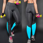 Womens Fitness Yoga Leggings Gym Workout Sports Pencil Pants Stretch Trousers