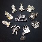Christmas Antiqued Silver Plated Wholesale Charms Mix CM1216 - 10, 20 Or 50PCs