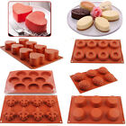 Silicone Cupcake Mold Pan Cake Donut Muffin Chocolate Candy Cookie Baking Mould