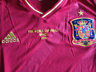 Ltd Edition Brazil World cup 2014 Mens Spanish Spain Shirt XL Russia 2016 Espani