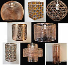 COPPER COLLECTION PENDANT CEILING SHADES TABLE LAMP