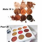 Sexy Cosmetic Matte Eyeshadow 9 Color Eye Shadow Makeup Palette Shimmer Set Gift