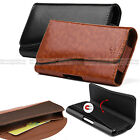 For Apple iPhone 6/S Plus Premium Leather Holster Belt Clip Pouch w/ Card Pocket