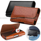 For Apple iPhone 6/6S Plus New Leather Belt Clip Pouch Case Magnetic Flip Cover