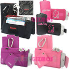 HELLO KITTY BENCH CLEAN IT SOCK CASE COVER WALLET BAG FOR VARIOUS PHONES / IPOD