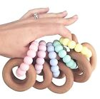 Nature Bubz Scandi Rattle / Baby Teething Toy - 7 Colours to Choose From!