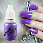 OPHIR 12 Colors Easy to Clean Nail Pigment Airbrush Inks for Nail Decorate