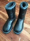 NEW UGG Australia Classic Short Metallic Boots Shearling Blue/Green Size 6