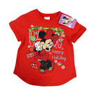 LICENSED MINNIE MOUSE MERRY CHRISTMAS HAPPY HOLIDAYS KIDS SHIRT