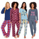 Ladies Womens Pyjama Set PJ Pajama Sets Gift Idea For Her Jersey Plus Size 8-22
