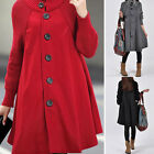 Fashion Women Warm Slim Thick Parka Overcoat Jacket Long Winter Outwear Coat