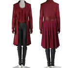 New Arrival Captain America Scarlet Witch Cosplay Costume Custom Size Full Suit