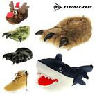 Mens DUNLOP Novelty Monster Claws and Bulldog Slippers Sizes 6 7 8 9 10 11 12 13