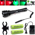 Kyпить Green/Red CREE LED Hunting Tactical Flashlight / Mount / 18650 Batteries Charger на еВаy.соm