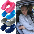 New U-Shape Travel Pillow for Airplane Inflatable Neck Pillow Travel Pillows#X