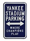 MLB Fans Parking Metal Steel Street Sign Embossed SELECT YOUR TEAM NEW on Ebay