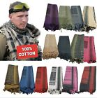 Military Shemagh Keffiyeh Army Head Scarf Arab Desert Tactical Cotton Wrap