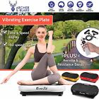 Fitness vibration exercise platform - vibrating plate body shaper slim machines