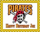 Pittsburgh Pirates (Nr2) - Edible Cake Topper OR Cupcake Topper, Decor on Ebay