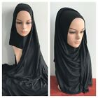 MAXI COTTON JERSEY 1 piece Al Amira Hijab Scarf Chest Head Cover 180 x 70 cm