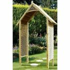 GARDEN TIMBER WOODEN ARCH Valencia Arch by GRANGE ~