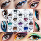 Cosmetic Matte &Glitter Makeup Eyeliner Gel Waterproof Eye Liner Cream 12 Colors
