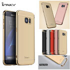 Three-Parts iPaky Chrome Armor Side Cover case For Samsung Galaxy S7 S7 edge