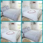 Heart Design Duvet Cover Bedding Set Single Double King Sizes image