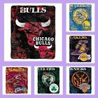 NBA Licensed Plush DropDown Raschel Afghan Throw Blanket - Choose Your Team