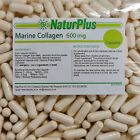 MARINE COLLAGEN 600mg 30 - 90 - 180 - 360 CAPSULES - NaturPlus