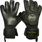Zoop Pro High Quality Goalkeeper Hybrid Roll+Neg Finger Gloves Size 8/9/10