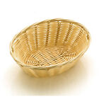 COMMERCIAL POLY-RATTAN BASKET DISPLAY BREAD ROLLS CROISSANT&SERVING FOOD BUFFET