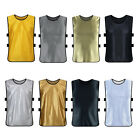 ADULTS KIDS FOOTBALL TRAINING VEST TEAM SOCCER RUGBY BASKETBALL SPORTS TANK TOPS